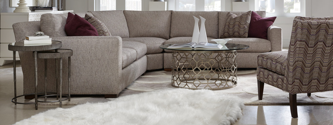 Sam Moore Simply Me Sage Sectional